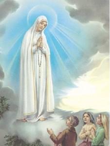 Aparición Virgen de Fátima