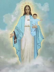 Garabandal Virgen y Niño