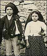 Jacinta y Francisco de Fátima