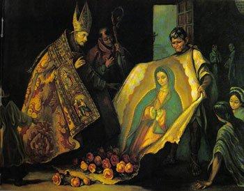 Juan Diego - Virgen de Guadalupe