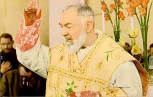 bendición del padre Pio