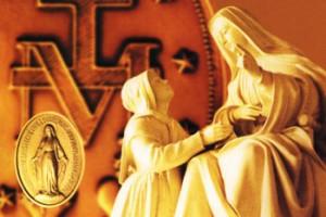 catalina y la medalla milagrosa