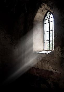 Luz en la ventana