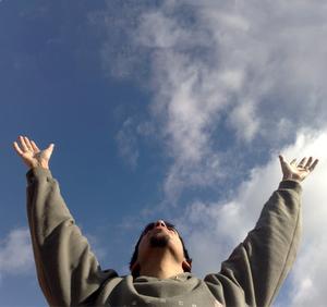 Tocar el cielo con las manos