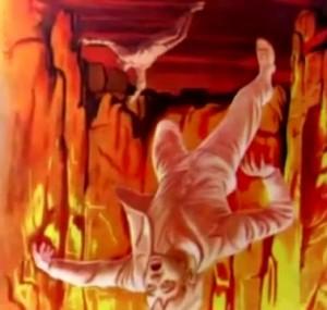 Visión del infierno de S Juan Bosco