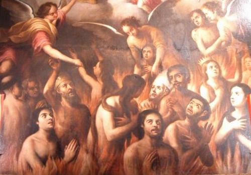Resultado de imagen de almas del purgatorio