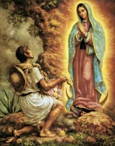 Aparición Virgen de Guadalupe