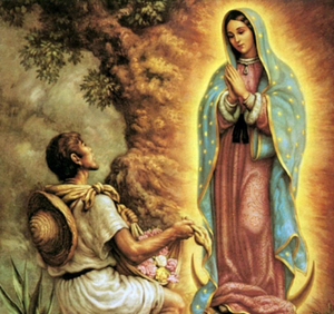 Aparición Virgen de Guadalupe (ft img)