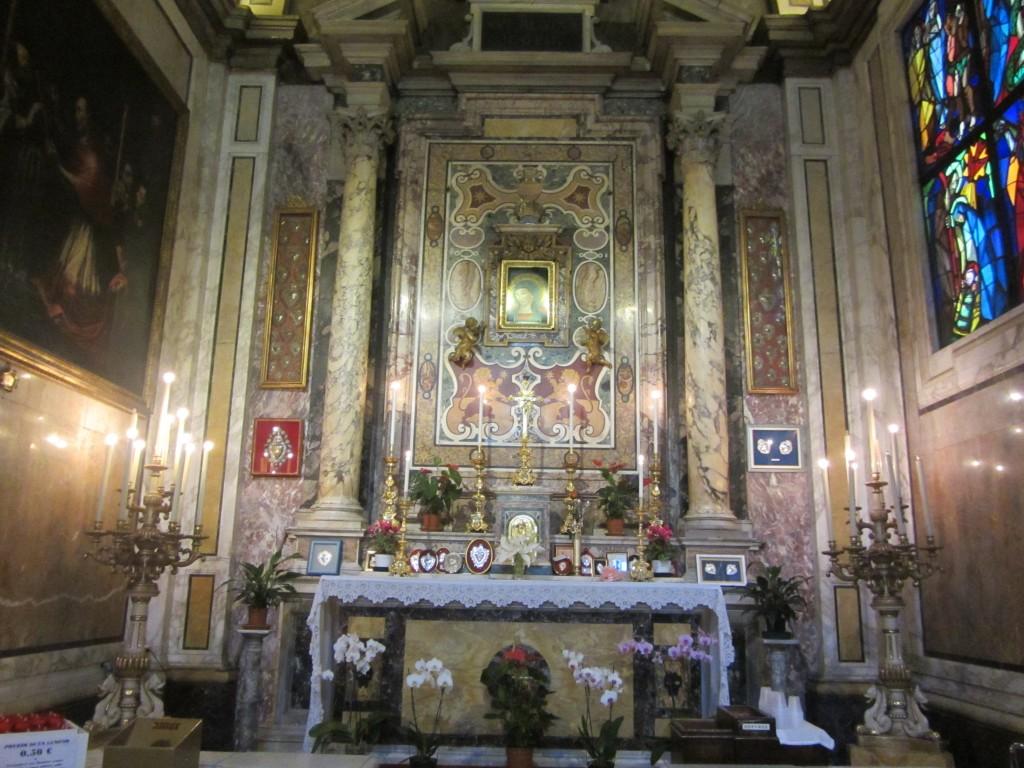 Madonna del pozzo en Roma