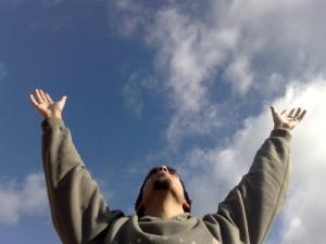 Tocar el cielo con la manos