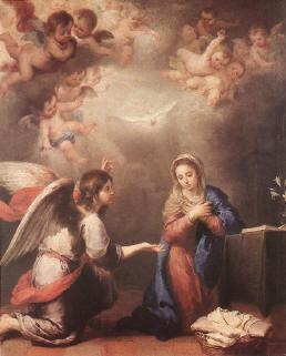Annciación del ángel a María