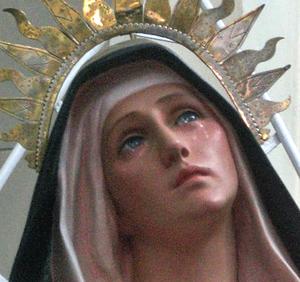 Virgen llorando - Venezuela (ft img)