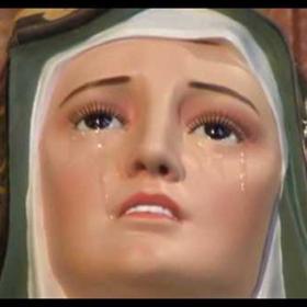 Lacrimación Virgen de Dolores en Puebla 2 (FT img)