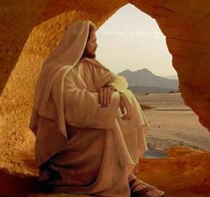 Jesús en el desierto (ft img)