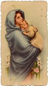 María y el niño