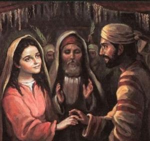 San José y la Virgen, esposos (ft img)