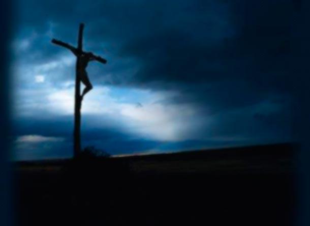 Jesús en la cruz 2