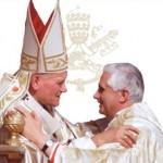 Juan Pablo II - Benedicto XVI (ft img)