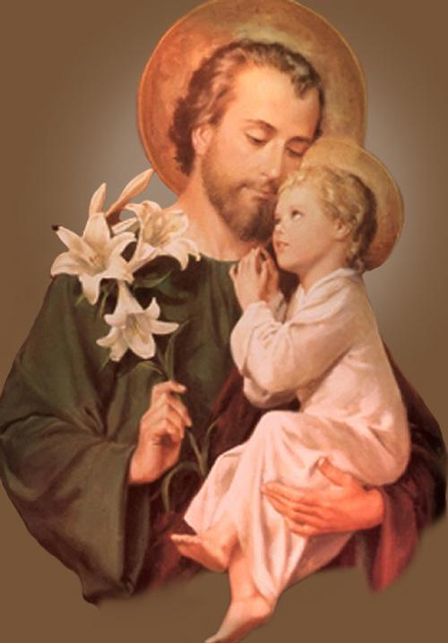 San José y el Niño Dios