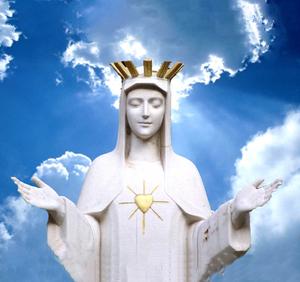 Virgen del Corazón de Oro - Cielo (ft img)