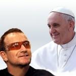 Bono-Papa Francisco (ft img)