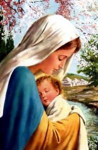 María y el Niño Dios