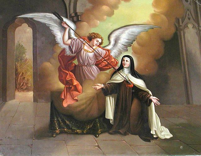Santa Teresa corazón traspasado