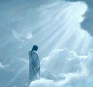 Jesús en el cielo (ft img)