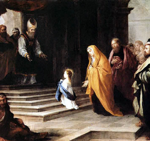 Presentación de María en el Templo (ft img)