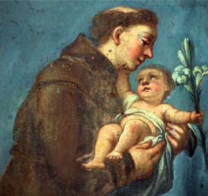 Pintura de San Antonio de Padua (ft img)
