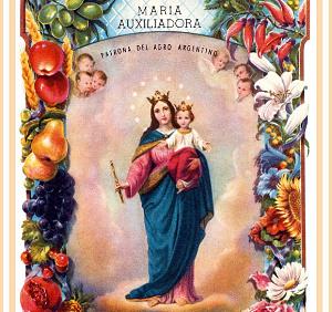 María Auxiliadora Patrona del Agro (ft img)
