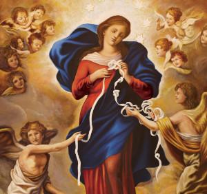 Virgen que desata los nudos (ft img)