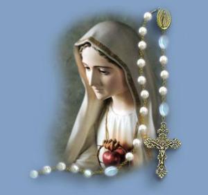 Virgen y rosario (ft img)