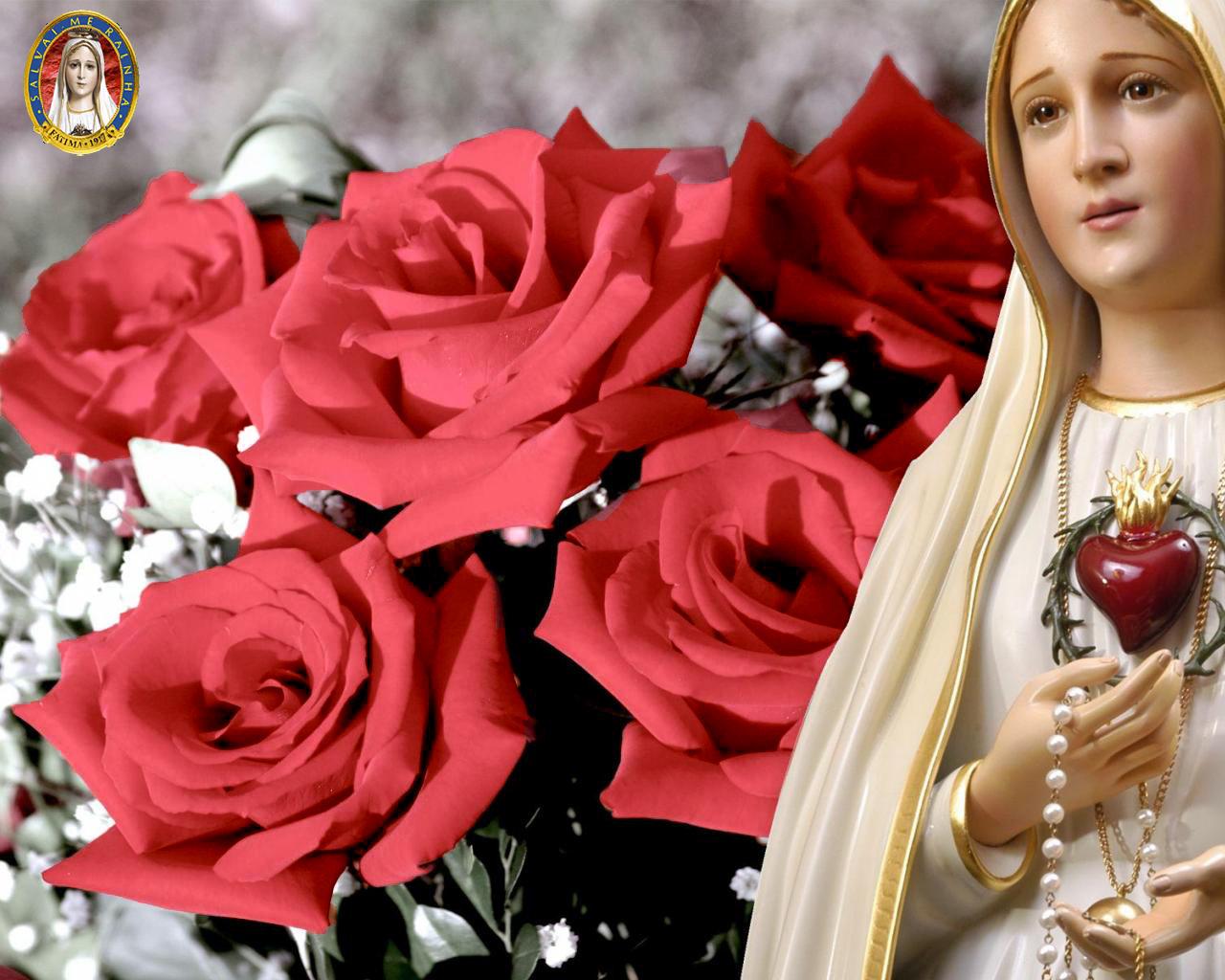 Corazón de María rosas (low res)