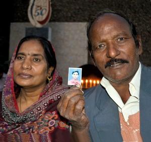 Bashir and his wife Nasbano, parents of Akash Bashir, 20, who wa