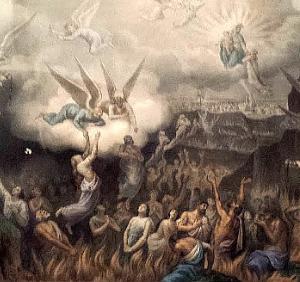 Imagen del purgatorio