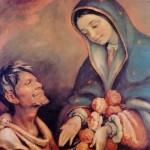 Juan Diego y la Virgen de Guadalupe (ft img)