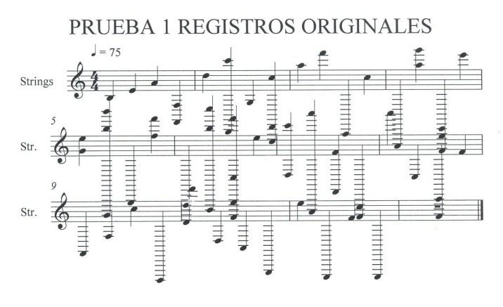 Notas musicales manto Virgen de Guadalupe