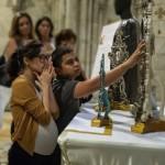 Visita a la reliquia del Padre Pio (ft img)