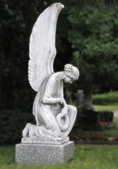 Ángel orando 2