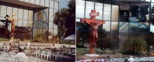 Antes y después Virgen Clearwaters