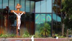 Cruz y Virgen de Clearwater