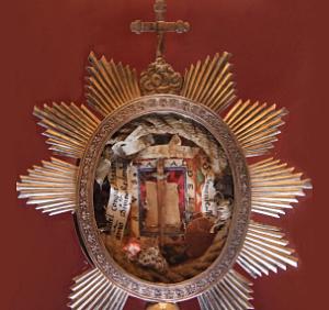 Cruz de Carvaca reliquia de la cruz de Jesús (ft img)