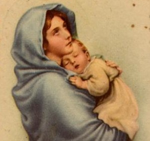 María y el niño (ft img)