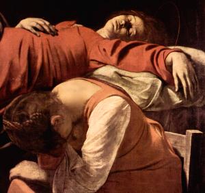 Muerte de la Virgen - Caravaggio (ft img)