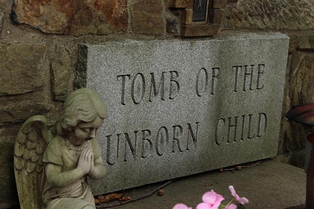 Tumba a los no nacidos