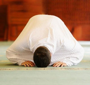 musulman en oración (ft img)